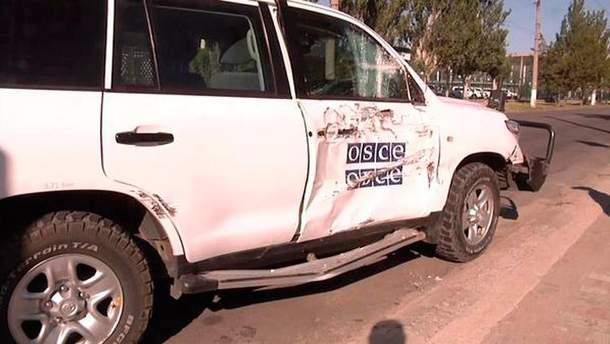 Автомобіль ОБСЄ потрапив у ДТП