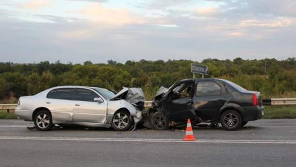 Аварія у Запорізькій області