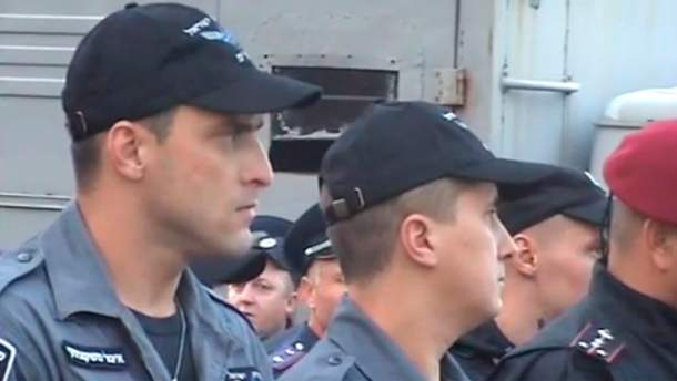 Израильские полицейские