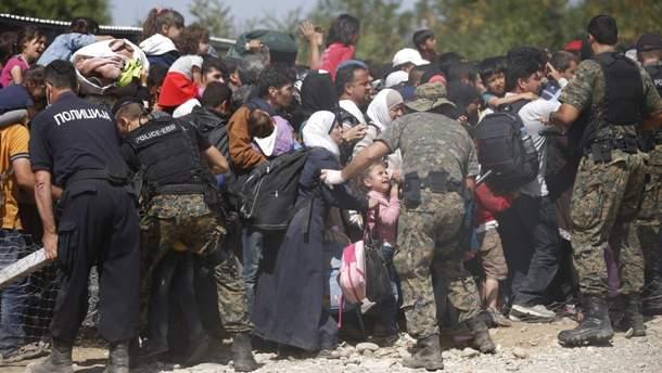 Беженцы рвутся в Европу