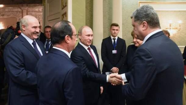 """""""Нормандська четвірка"""" у Мінську"""