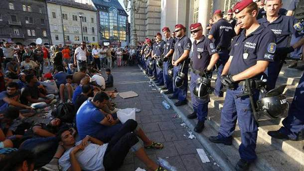 Біженці в Угорщині