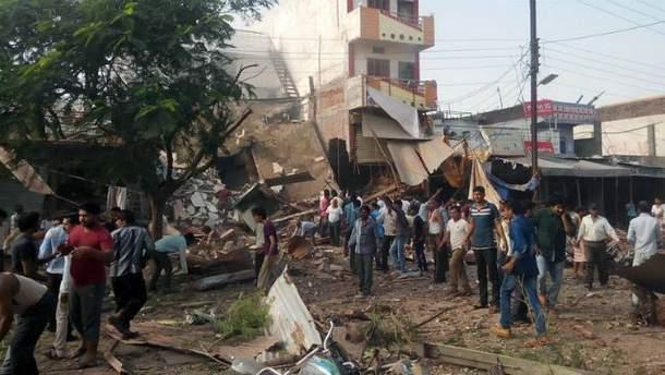 Взрыв в Индии