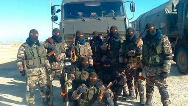 Российские военные в Сирии