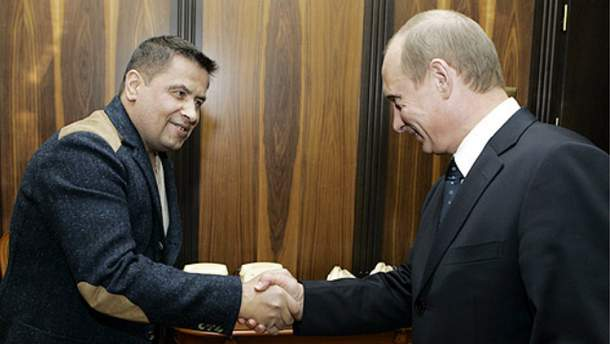 Николай Расторгуев и Владимир Путин