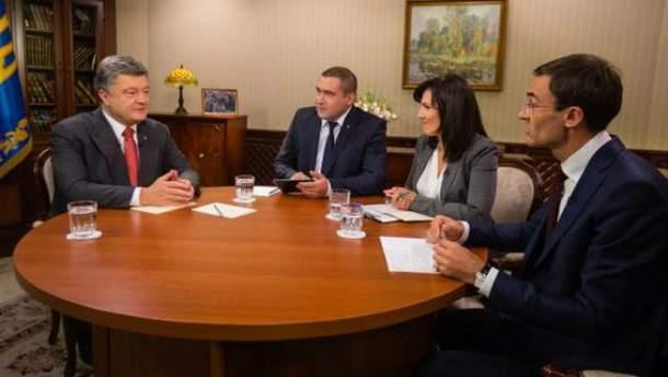 Порошенко сказал, сколько пленных удалось освободить за год