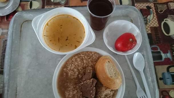 Обед для военных