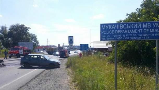Стрілянина в Мукачеві
