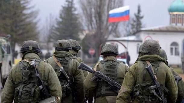 """""""Зелені чоловічки"""" у Криму"""