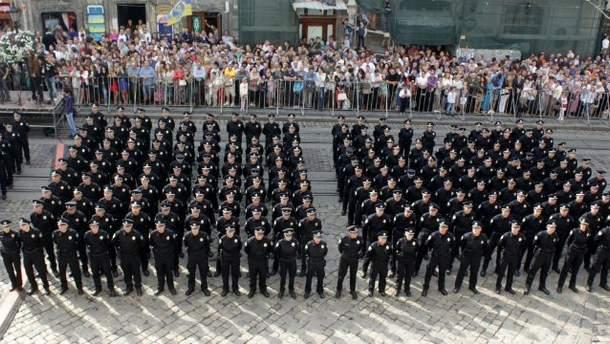 Присяга новой полиции