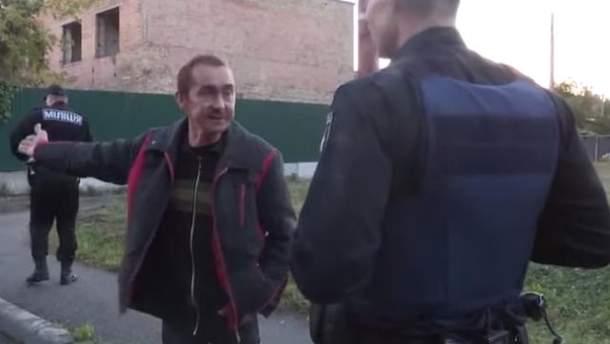 Милиция и полиция успокаивали нетрезвых