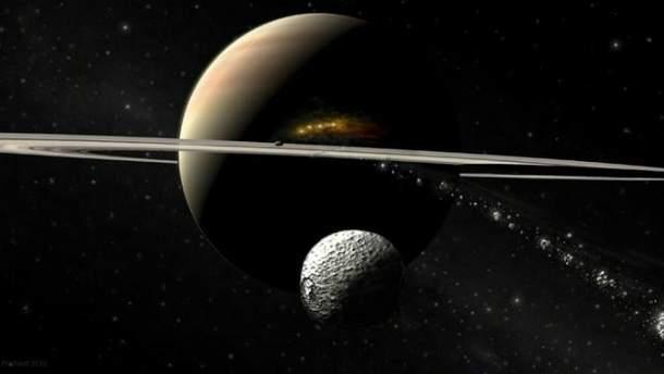 NASA оприлюднило рідкісне фото Сатурна