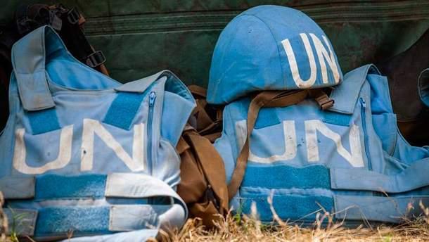 """""""Голубые каски"""" ООН"""