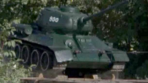 Демонтаж танка