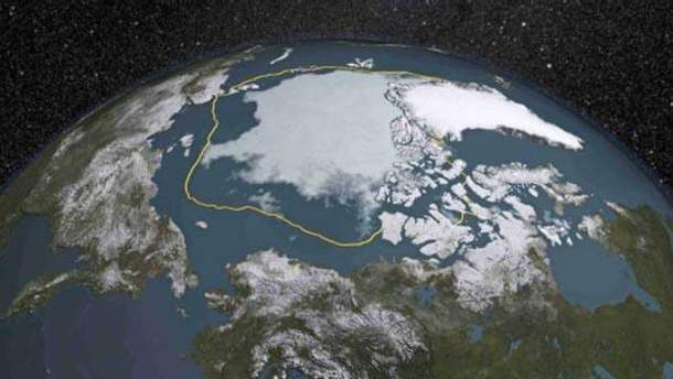 Арктика тане