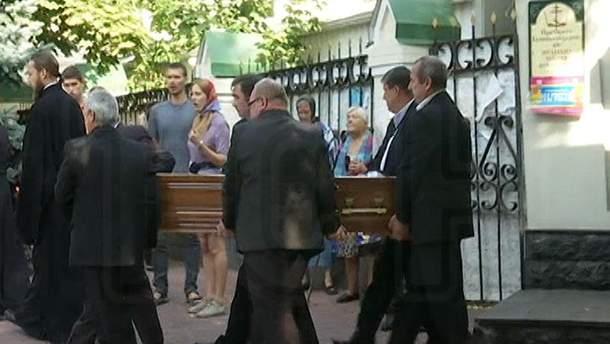 Гроб с телом Николая Германа