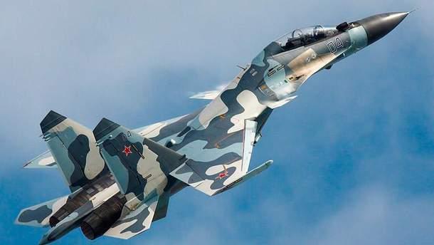 российский боевой самолет