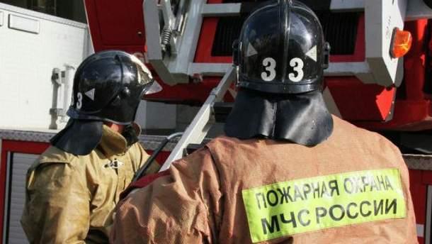 Российские пожарные