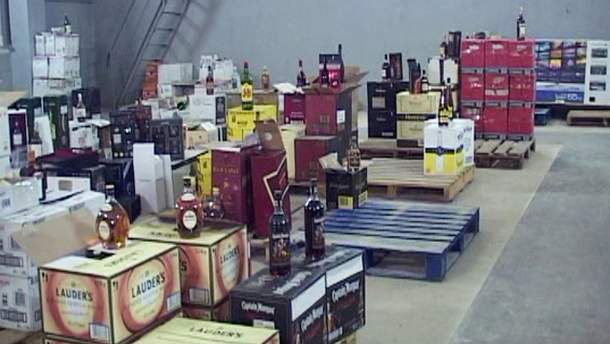 Контрабандний алкоголь
