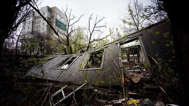Последствия войны в Донбассе