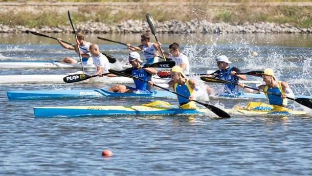 Українські веслувальники