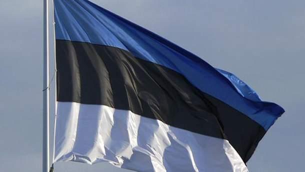 Естонський прапор
