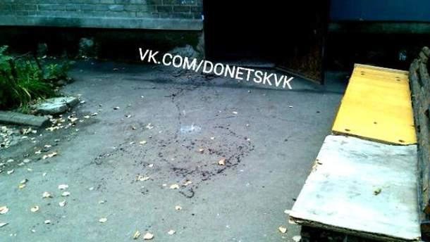 Вибух в Донецьку