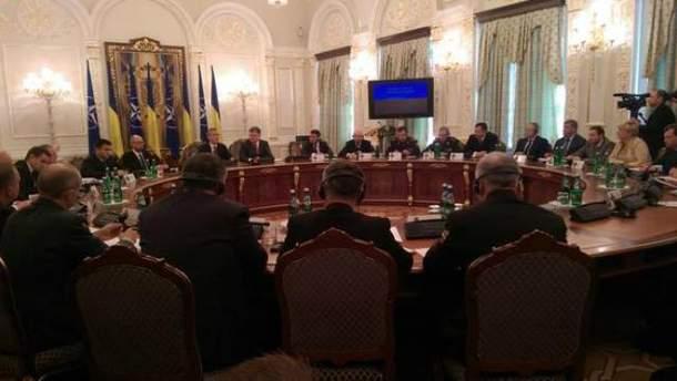 Заседание СНБО