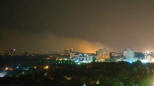 Дым в Одессе