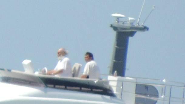 Патриарх Кирилл на яхте
