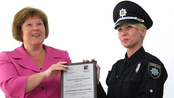 Награда для полиции