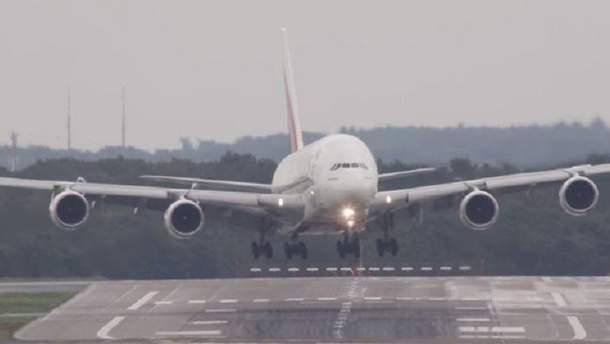 Ветер и дождь в аэропорту могут вызвать катастрофу
