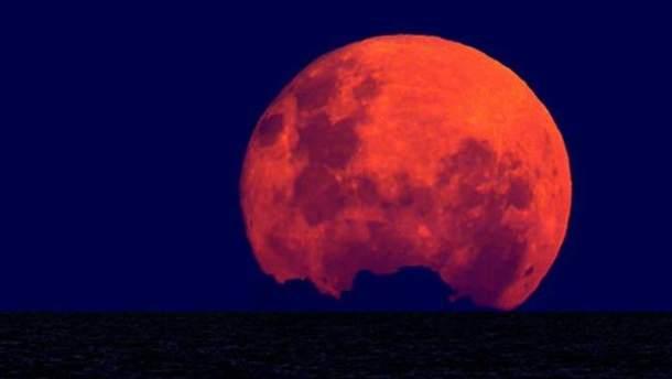 Повний Місяць буде дуже близько до Землі