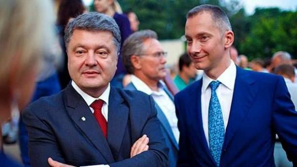 Петр Порошенко, Борис Ложкин