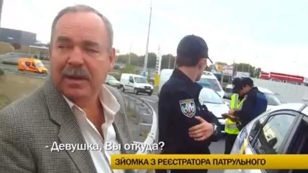 Полийцейськи задержали пьяного полковника