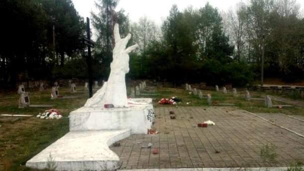 Кладбище солдат Красной армии в Польше