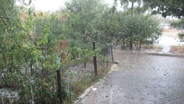 Злива у Криму