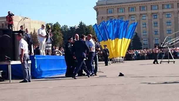 Представление полиции в Харькове