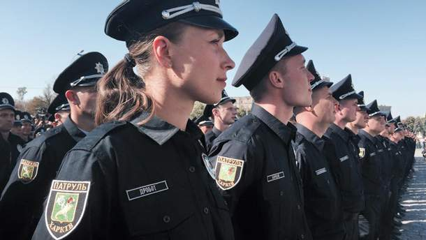 Харьковские полицейские