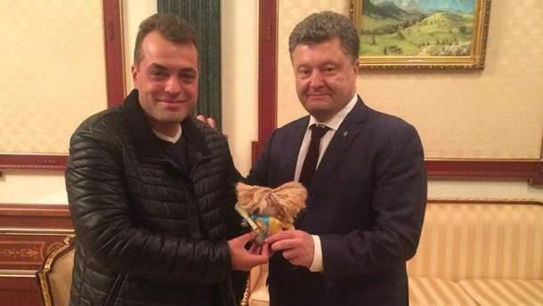 Бирюков и Порошенко