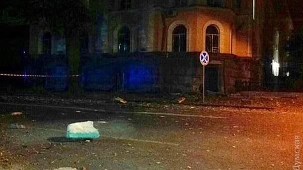 Взрыв в Одессе вблизи СБУ