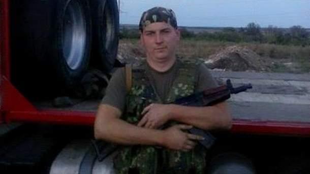 Демобилизованный боец 12-го отдельного мотопехотного батальона Артем Приходько