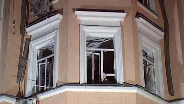 Дом после взрыва в Одессе