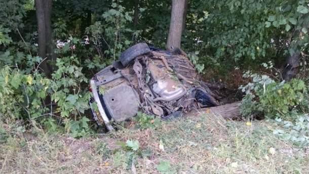 Аварія у Черкаській області