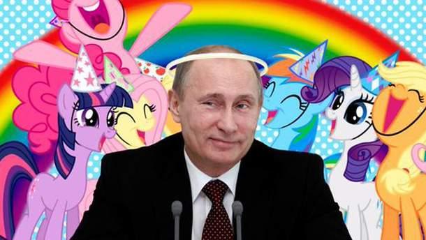 "Путин - ""миротворец"""