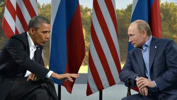 Барак Обама, Володимир Путін