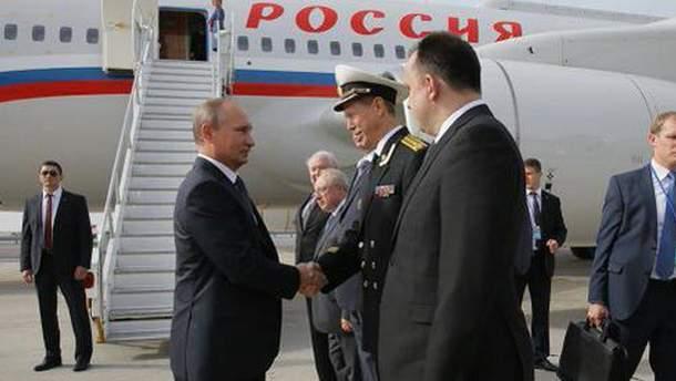 Владимир Путин прибыл в США