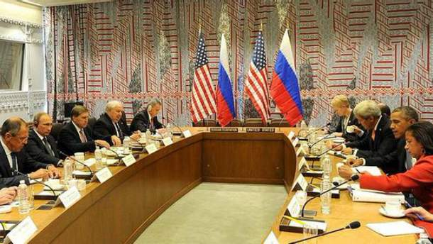 Встреча Обамы с Путиным