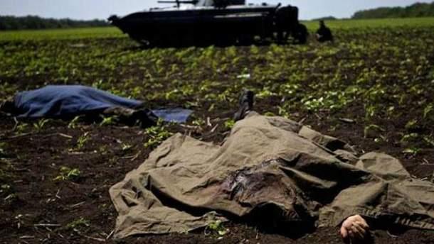 Погибшие в война на Донбассе