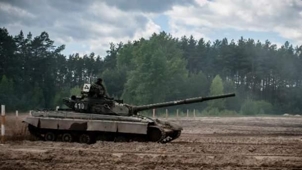 Військова техніка в зоні АТО
